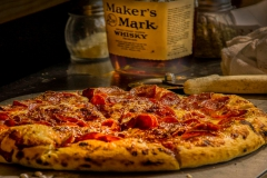 Brick Oven Bourbon Pizza